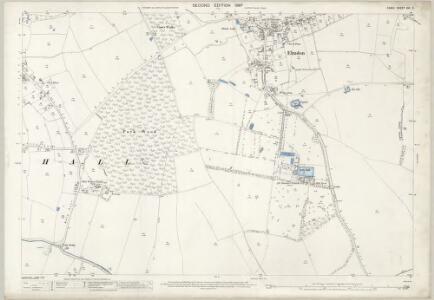 Essex (1st Ed/Rev 1862-96) VIII.2 (includes: Chrishall; Elmdon; Wendon Lofts) - 25 Inch Map