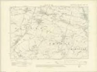 Yorkshire CXXXIV.SW - OS Six-Inch Map