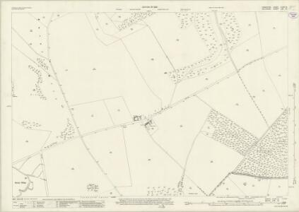 Hampshire and Isle of Wight XLVIA.15 (includes: Broad Chalke; Martin) - 25 Inch Map