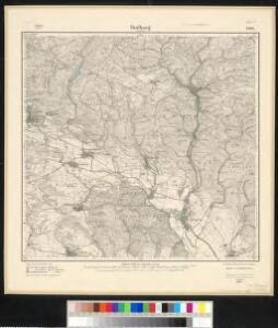 Meßtischblatt 2526 : Stolberg am Harz, 1924