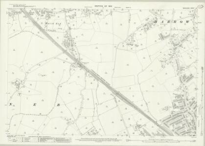 Middlesex X.3 (includes: Harrow) - 25 Inch Map
