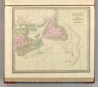 Newfoundland, Nova Scotia, And New Brunswick.