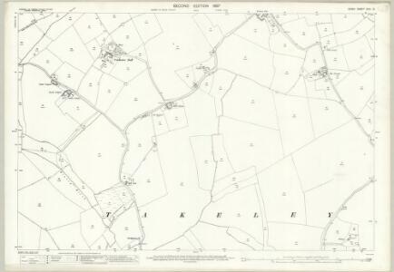 Essex (1st Ed/Rev 1862-96) XXIII.10 (includes: Takeley) - 25 Inch Map