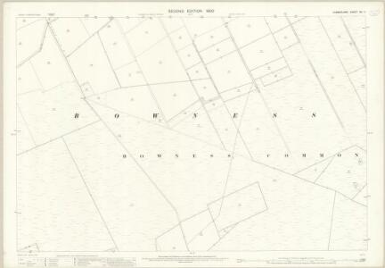 Cumberland XIV.11 (includes: Bowness) - 25 Inch Map