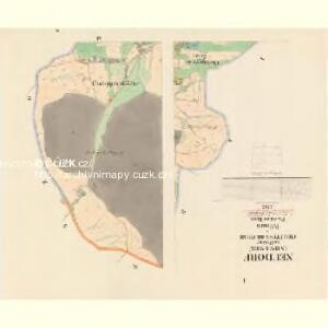 Neudorf (Nowa-Wes) - c5243-1-001 - Kaiserpflichtexemplar der Landkarten des stabilen Katasters