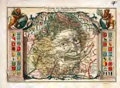Territorium der Republic Zürich samt den Angrentzungen