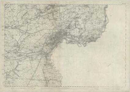 Lancashire CV - OS Six-Inch Map