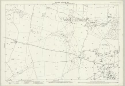 Dorset LVI.11 (includes: Corfe Castle; Langton Matravers; Worth Matravers) - 25 Inch Map