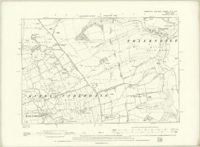 Yorkshire CXLVI.NE - OS Six-Inch Map