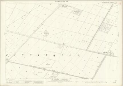 Nottinghamshire I.15 (includes: Blaxton; Finningley; Misson) - 25 Inch Map
