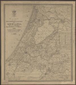 Kaart van het Hoogheemraadschap van Rijnland : opgedragen aan de Weledele Heeren Dijkgraaf, Hoog-Heemraden en Hoofd-Ingelanden