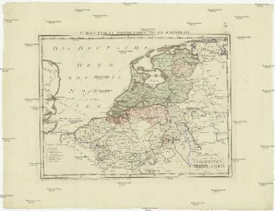 Postkarte von dem Vereinigten Niederlanden