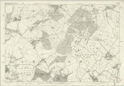Buckinghamshire X - OS Six-Inch Map