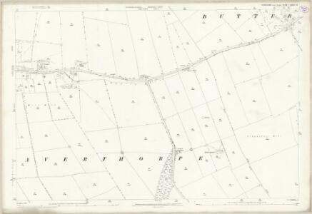 Yorkshire CXXVI.10 (includes: Foxholes; Weaverthorpe) - 25 Inch Map