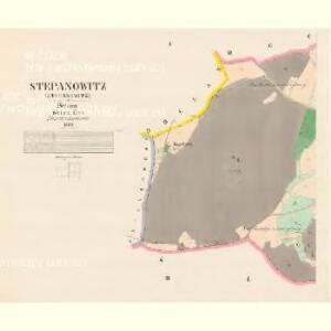 Stepanowitz - c7777-1-001 - Kaiserpflichtexemplar der Landkarten des stabilen Katasters
