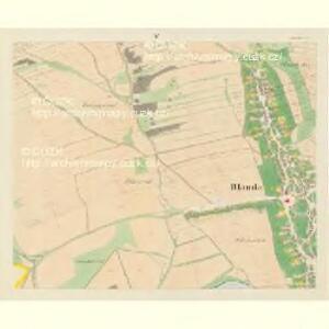 Blauda (Bludoff) - m0118-1-004 - Kaiserpflichtexemplar der Landkarten des stabilen Katasters