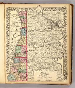 Hancock, Brooke, Ohio, Marshall counties.