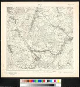 Meßtischblatt 72 : Löbau, 1916