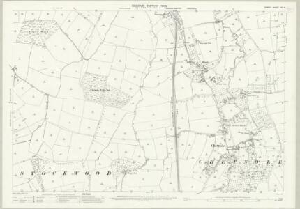 Dorset XXI.3 (includes: Chetnole; Leigh; Melbury Osmond; Stockwood; Yetminster) - 25 Inch Map