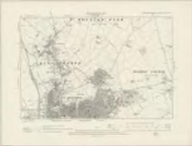 Northamptonshire XLV.NW - OS Six-Inch Map
