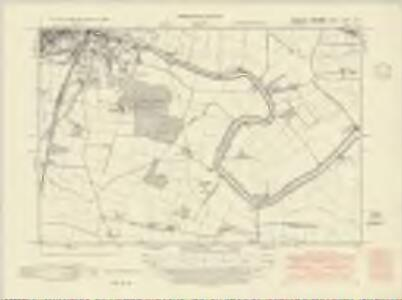Yorkshire CCXXI.SE - OS Six-Inch Map
