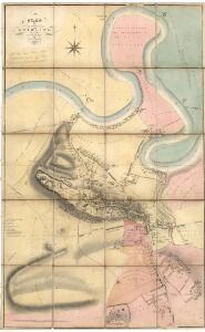 Plan of the Town of Stirling from actual survey.