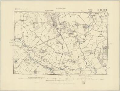 Gloucestershire XVII.SW - OS Six-Inch Map