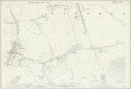 Middlesex VI.5 (includes: Elstree; Hendon) - 25 Inch Map