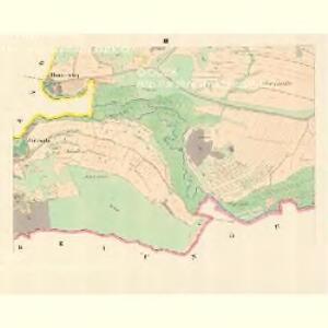 Braune (Wranowa) - m3471-1-003 - Kaiserpflichtexemplar der Landkarten des stabilen Katasters
