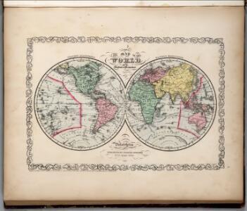 The World on the Globular Projection .