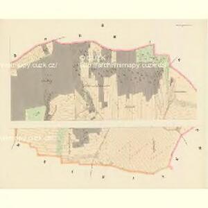 Steinaugest (Kameni-Augezd) - c3028-1-002 - Kaiserpflichtexemplar der Landkarten des stabilen Katasters