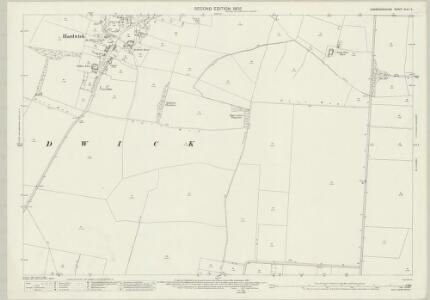 Cambridgeshire XLVI.3 (includes: Comberton; Hardwick; Toft) - 25 Inch Map