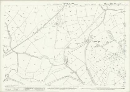 Kent LXXIX.11 (includes: Beckley; Rolvenden; Wittersham) - 25 Inch Map