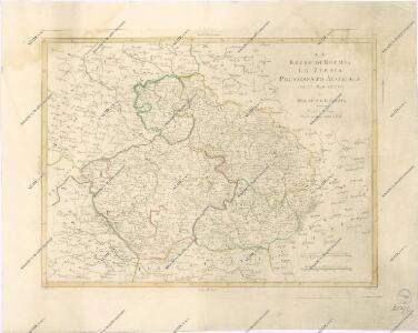Il Regno di Boemia la Slesia Prussiana ed Austriaca noc li Marchesati di Muravia e Lusazia