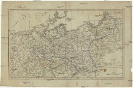 Karte der sämtlichen Preussischen Staaten