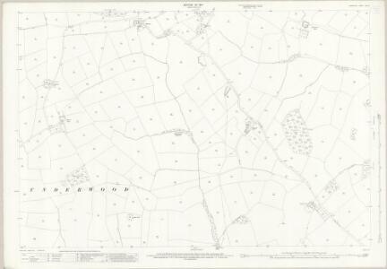 Derbyshire XLIV.11 (includes: Weston Underwood; Windley) - 25 Inch Map