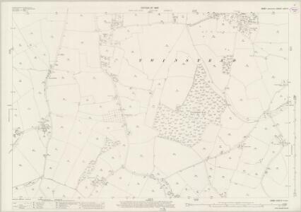 Essex (New Series 1913-) n XVII.5 (includes: Alphamstone; Pebmarsh; Twinstead) - 25 Inch Map