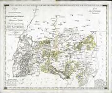 Charte von den oesterreichischen Besitzungen im schwæbischen Kreise
