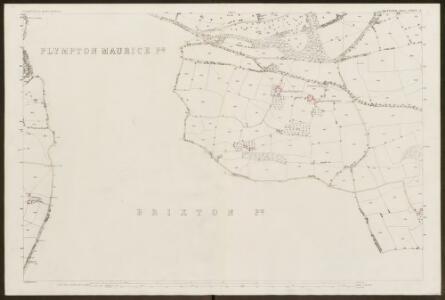 Devon CXXIV.7 (includes: Brixton; Plympton St Maurice; Plymstock; Sparkwell) - 25 Inch Map