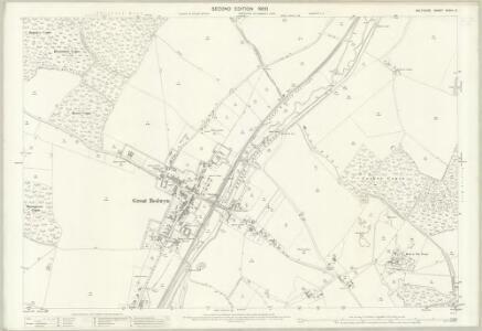 Wiltshire XXXVII.5 (includes: Great Bedwyn; Little Bedwyn) - 25 Inch Map