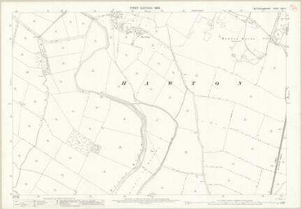 Nottinghamshire XXXV.11 (includes: Balderton; Farndon; Hawton) - 25 Inch Map