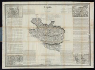 Álava / Francisco Coello. - (Atlas de España y sus posesiones de ultramar)