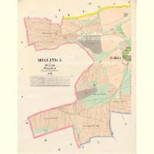 Mislinka - c4917-1-002 - Kaiserpflichtexemplar der Landkarten des stabilen Katasters