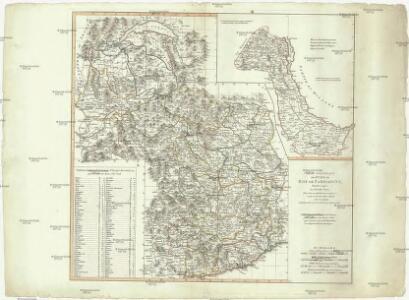 Carte Générale des états du Roi de Sardaigne