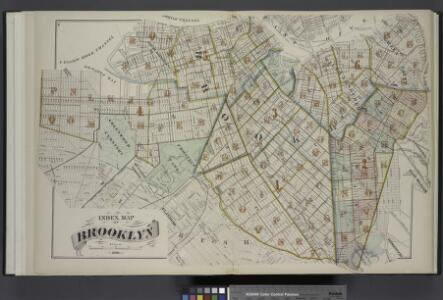 Index Map of Brooklyn
