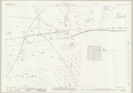 Wiltshire LV.13 (includes: Amesbury; Bulford) - 25 Inch Map