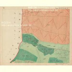 Fröllersdorf - m1088-2-005 - Kaiserpflichtexemplar der Landkarten des stabilen Katasters