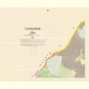 Nittowitz - c5175-1-002 - Kaiserpflichtexemplar der Landkarten des stabilen Katasters