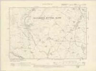 Montgomeryshire V.NE - OS Six-Inch Map