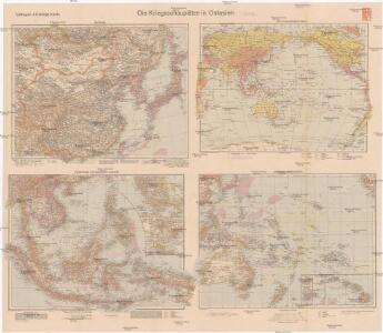 Die Kriegsschauplätze in Ostasien